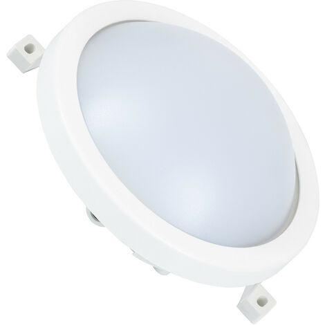 Plafón LED 12W Circular New Hublot White Blanco Neutro 4000K - Blanco Neutro 4000K