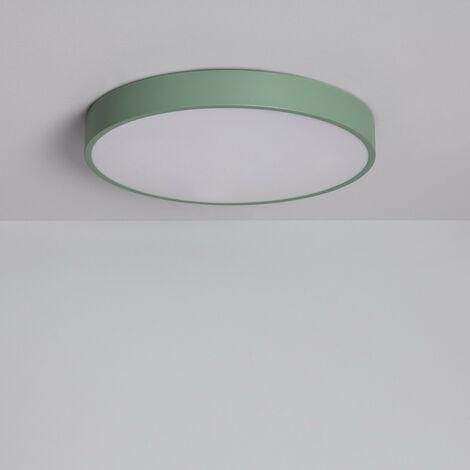 Plafón LED 24W Circular Iris CCT Seleccionable Verde Celadón - Verde Celadón