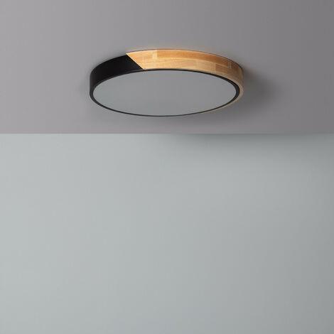 Plafón LED 24W Circular Semi-Dari CCT Seleccionable Verde Celadón - Verde Celadón