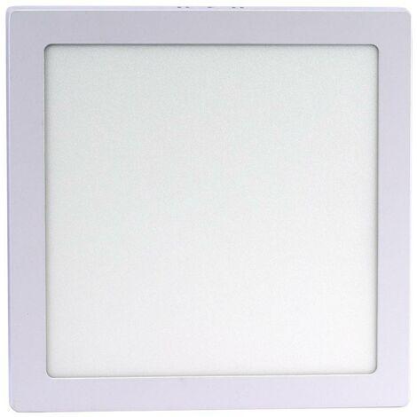 Plafón LED 24W cuadrado de superficie - 5 años de garantía
