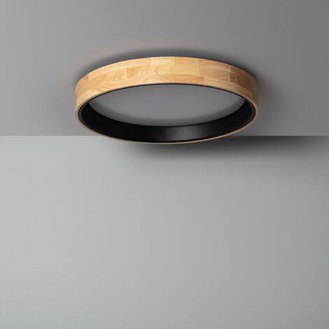 Plafón LED 30W Circular Dari CCT Seleccionable Negro - Negro