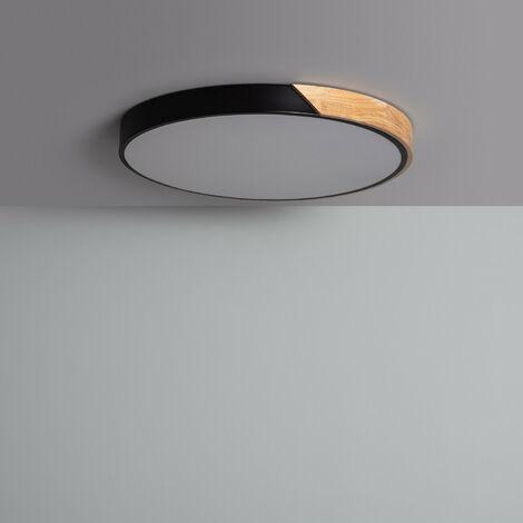 Plafón LED 36W Circular Semi-Dari CCT Seleccionable Verde - Verde