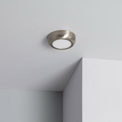 Plafón LED 6W Circular Design Silver