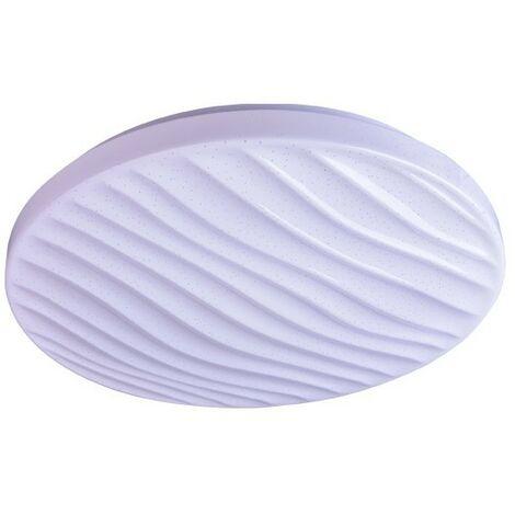 Plafón LED 72W, 4500lm regulable SILVY CRISTALRECORD 27-992-72-100
