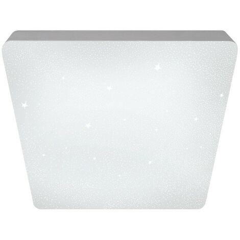Plafón LED 72W Sever cuadrado estrellas CRISTALRECORD 27-602-72-100