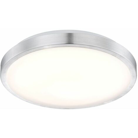 Plafón LED ALU foco lámpara salón iluminación redondo opal blanco Globo 41685