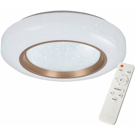 PLAFÓN LED AMAPOLA 45W REGULABLE BRONCE