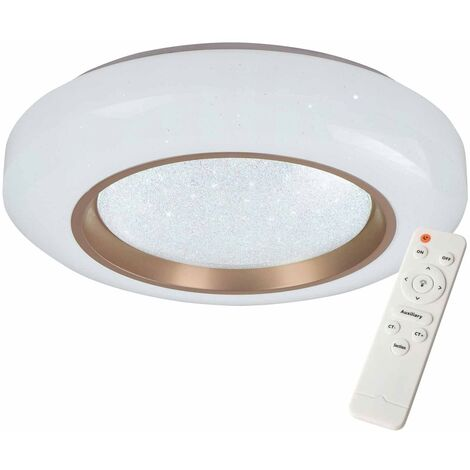 PLAFÓN LED AMAPOLA 59W REGULABLE BRONCE