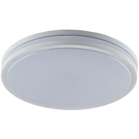 Plafón LED Arnim en blanco, forma redonda