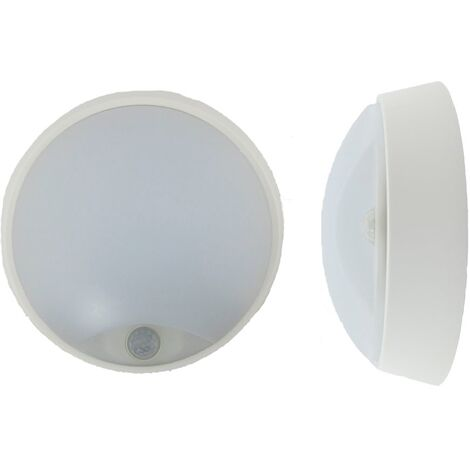 Plafón led blanco 14w con sensor Luxtar