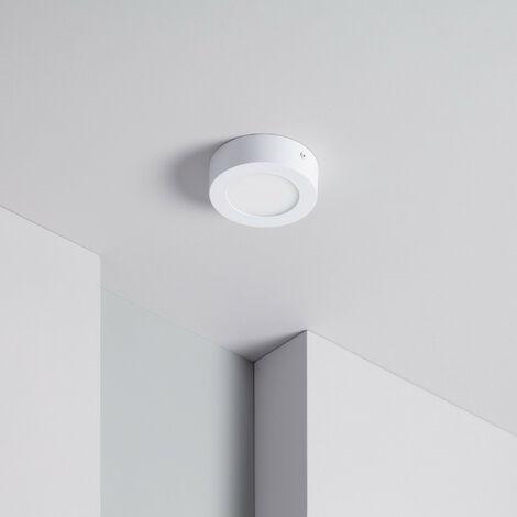 Plafón LED CCT Seleccionable Circular 6W Regulable Seleccionable (Cálido-Neutro-Frío)