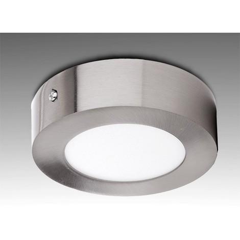 Plafón LED Circular Ø120Mm 6W 430Lm 50.000H Niquel Satinado | Blanco Frío (GL-PL-SM6RN-CW)