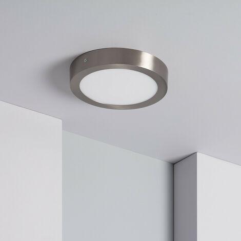 Plafón LED Circular 18W Silver