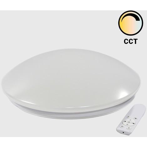 Plafón LED circular 40W con control de temperatura de blancos
