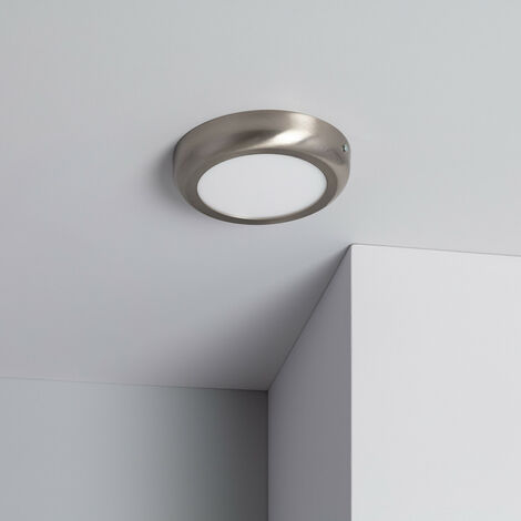 Plafón LED Circular Design 12W Silver