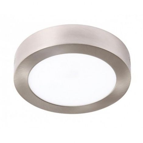 Plafón LED Circular Níquel 12W