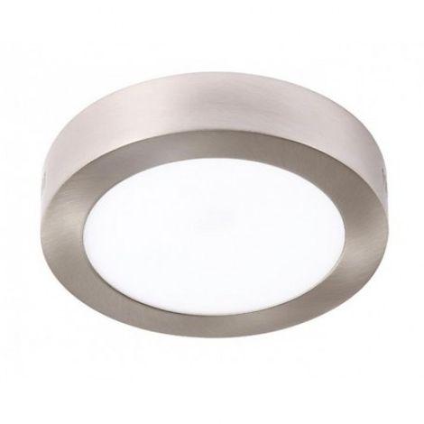 Plafón LED Circular Níquel 24W