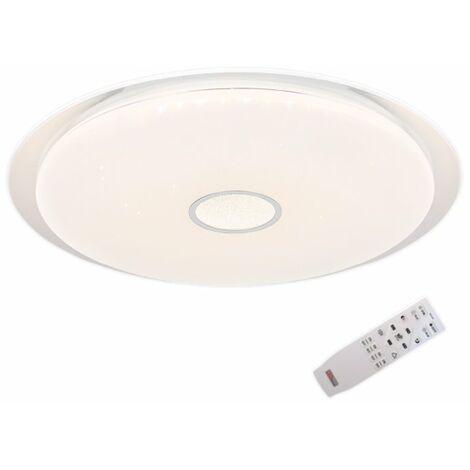 Plafón LED circular regulable con mando a distancia 58cm 36-72W Denver