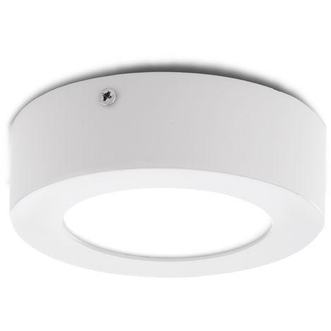 Plafón LED Circular Superficie Ø120Mm 12VDC 6W 470Lm 30.000H
