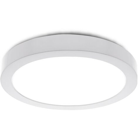 Plafón LED Circular Superficie Ø210mm 20W 2000Lm 30000H