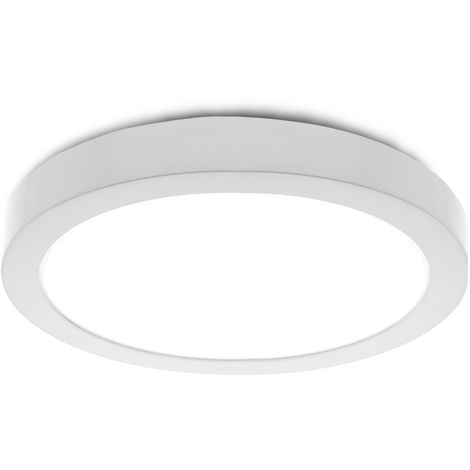 Plafón LED Circular Superficie Ø225Mm 12VDC 18W 1190Lm 30.000H | Blanco Frío (JL-JM18WR-12V-CW)