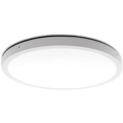 Plafón LED Circular Superficie Ø605Mm 48W 3600Lm 30.000H | Blanco Cálido (GR-MZMD01-48W-CW)