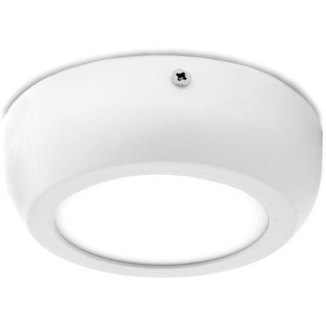 Plafón LED Circular Superficie Style 120Mm 6W 470Lm 30.000H