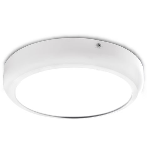 Plafón LED Circular Superficie Style 220Mm 18W 1440Lm 30.000H