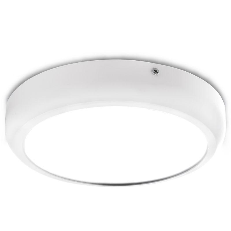 Blanco Fr/ío Plaf/ón LED Cuadrado Superficie 600X600Mm 36W 2700Lm 30.000H Greenice