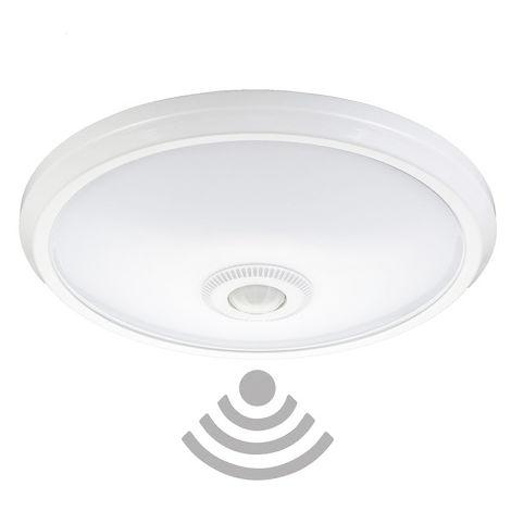 Plafón LED con Sensor Movimiento 15W Halls