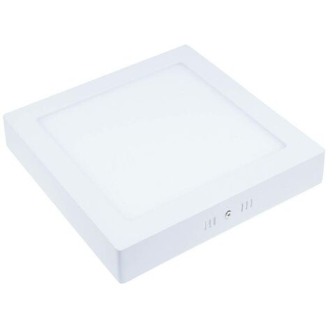 Plafón LED cuadrado de superficie 18W - 5 años de garantía