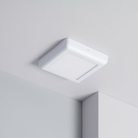 Plafón LED Cuadrado Design 12W White
