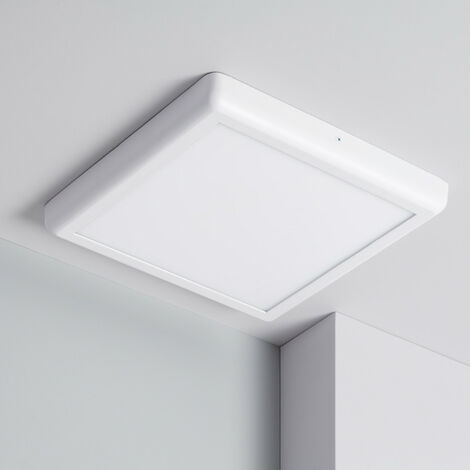 Plafón LED Cuadrado Design 24W White