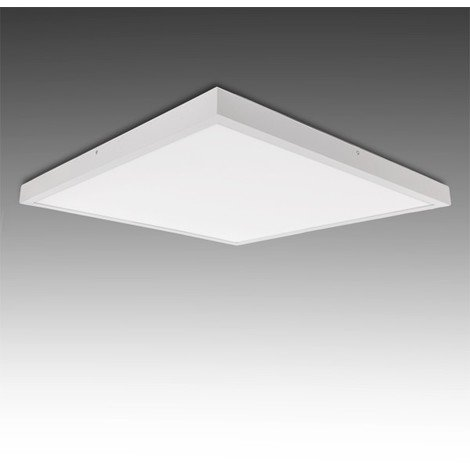Plafón LED Cuadrado Superficie 600X600Mm 36W 2700Lm 30.000H