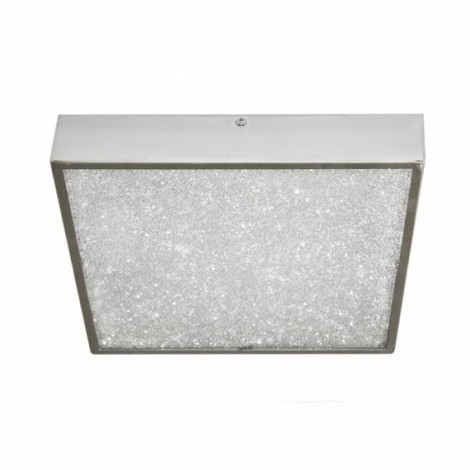 PLAFON LED DIAMANTE Color Cromo