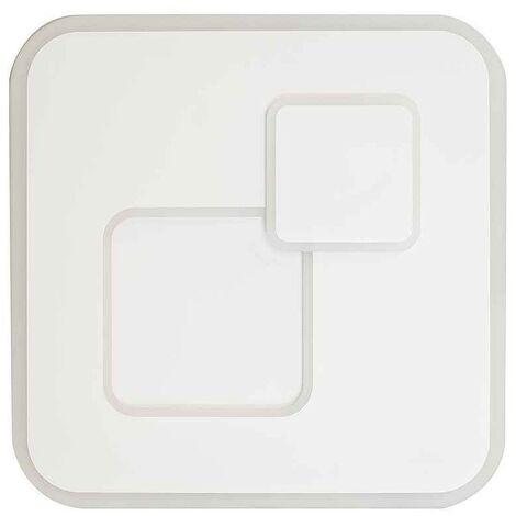 Plafon led dimable QUAD cuadrado con control remoto