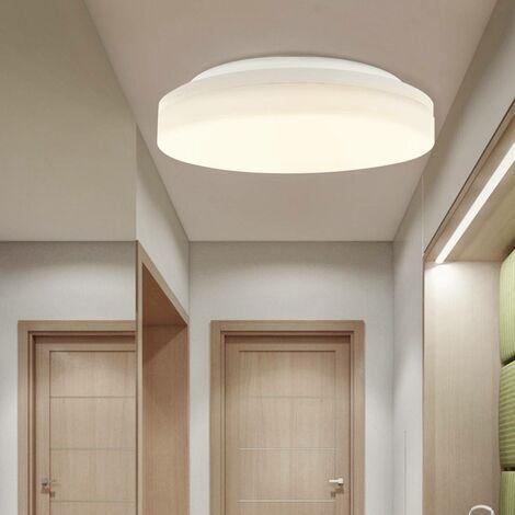 Plafón LED downlight circular de superficie con sensor 18W