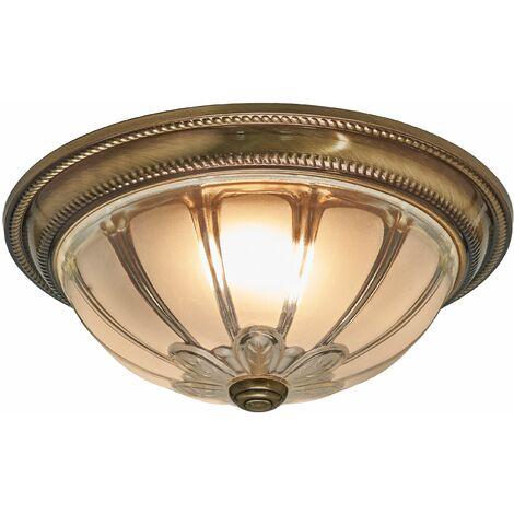 Plafón LED Henja redondo, atenuable en 4 niveles