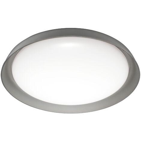 Plafon LED Inteligente 24W Plate Gris Regulable WIFI LEDVANCE