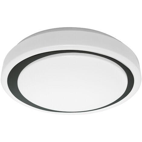 Plafon LED Inteligente 24W Redondo Negro Regulable WIFI LEDVANCE