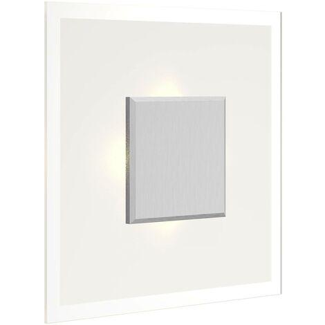 Plafón LED Lole de vidrio e intensidad regulable