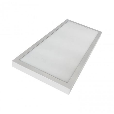 Plafón LED Luz regulable 36W 30x60 rectangular blanco