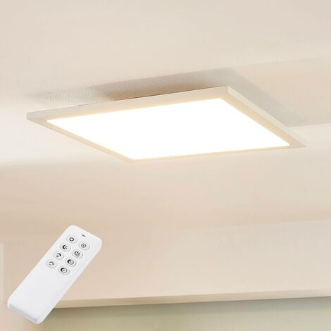 Plafón LED Lysander atenuable, mando a distancia