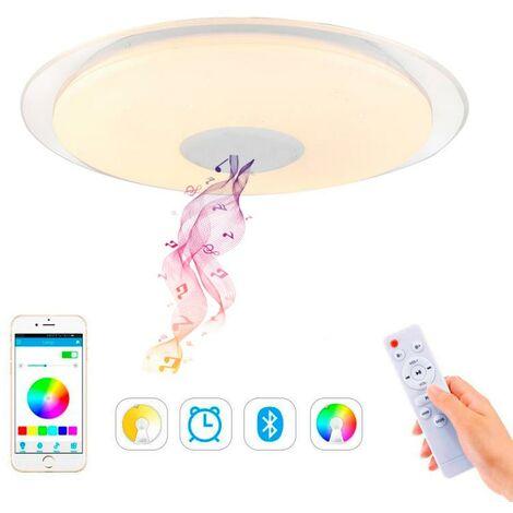 Plafón LED Magic con Altavoz RGB 30W + App RGB+3000+4000+6000 | IluminaShop