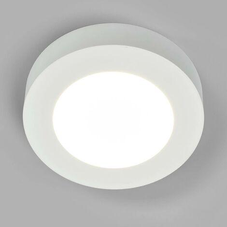 Plafón LED Marlo blanco 4.000 K redonda 18,2cm