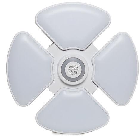 Plafón LED Musical Lanzarote 48W3000K-6500K+3W RGB Bluetooth (AM-A8002B)