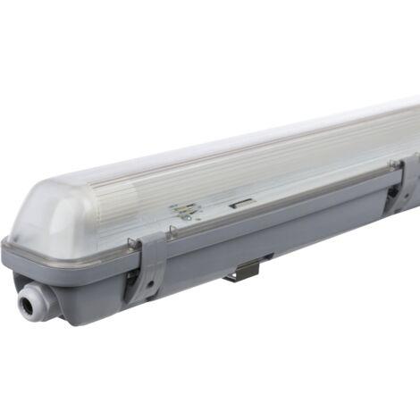 Plafón LED para cuartos húmedos, IP65, 1x 2,000 lm, 4000K, 156cm, blanco neutro