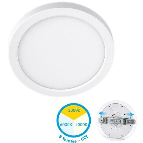 Plafón LED Proyección ajustable 30W CCT 3 Tonos