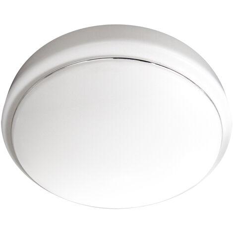 Plafón Led redondo blanco 48W 3000°K 500x80mm. (Ledesma 10808)