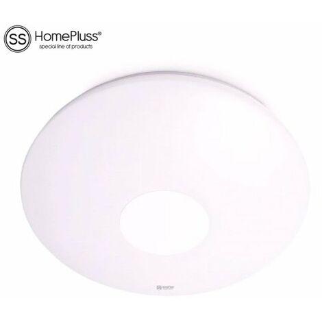 Plafón LED redondo blanco de techo